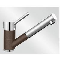 Blanco Antas-S kávová/chrom tlaková SILGRANIT® -Look - 515357