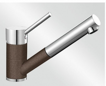 Antas-S kávová/chrom tlaková SILGRANIT® -Look - 515357