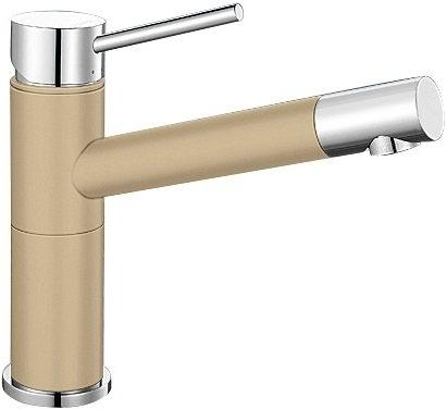 Alta Compact béžová champagne/chrom SILGRANIT®-Look - 515319