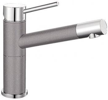 Alta Compact aluminium/chrom SILGRANIT®-Look - 515316