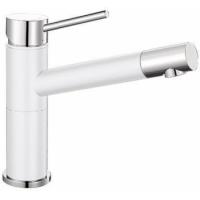 Blanco Alta Compact bílá/chrom SILGRANIT®-Look - 515317