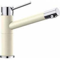 Blanco Alta Compact jasmín/chrom SILGRANIT®-Look - 515318