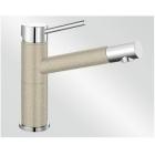 Blanco Alta Compact písek/chrom SILGRANIT®-Look - 515320