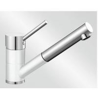 Blanco Antas-S bílá/chrom tlaková SILGRANIT® -Look - 515350
