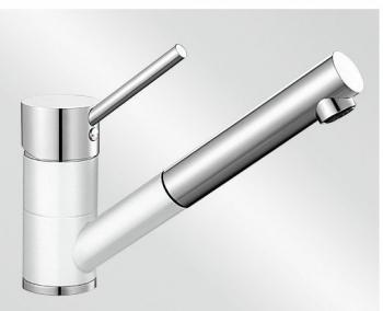 Antas-S bílá/chrom tlaková SILGRANIT® -Look - 515350