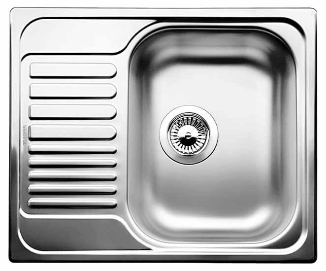 TIPO 45 S Mini nerez ocel profilovaný bez excentru - 516525