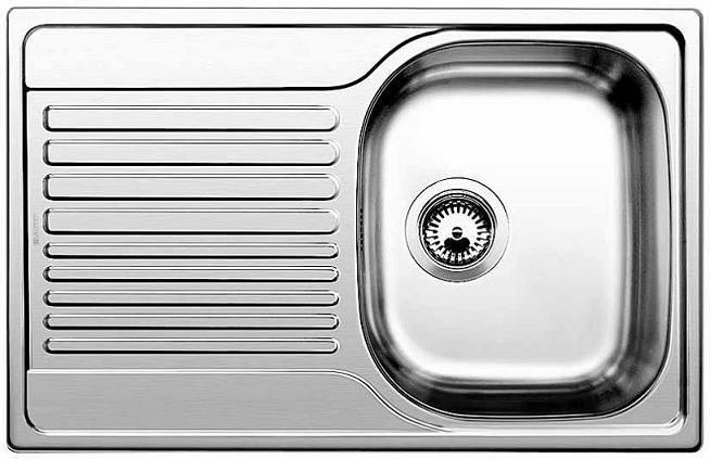 TIPO 45 S Compact nerez kartáčovaný bez excentru - 513442