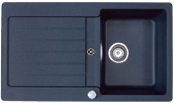 Teka LUGO 45 B-TG, černá metalická