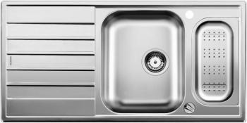 Blanco LIVIT 6 S Centric nerez ocel kartáčovaný příslušenství nerez s excentrem - 516191
