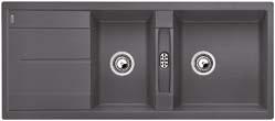Blanco METRA 8 S šedá skála SILGRANIT® PuraDur® II bez excentru - 518884