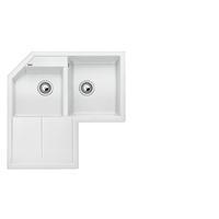 Blanco METRA 9 E bílý SILGRANIT® PuraDur® II bez excentru - 515568