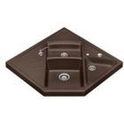 Blanco MODUS-M 90 kávová SILGRANIT® PuraDur® II s excentrem - 515085