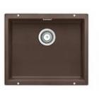 Blanco SUBLINE 500-U kávový SILGRANIT® PuraDur® II s táhlem - 515056