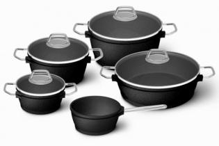 5-dílná sada nádobí (black edition)