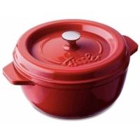 Fissler Pekáč arcana, kulatý 10 cm, červený