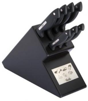 Signum blok nožů 8-dílný, černý