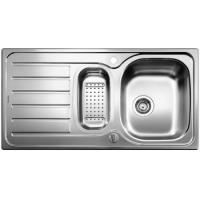 Blanco LANIS 6 S kuchyňský dřez, nerez kartáčovaný s excentrem - 516049