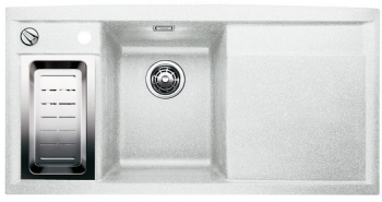 AXIA II 6 S bílý SILGRANIT® PuraDur® II vlevo s excentrem a příslušenstvím - 516832