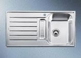 LANTOS 5 S nerez ocel kartáčovaný s excentrem a nerez příslušenstvím - 514800