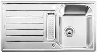 Blanco LANTOS 5 S nerez ocel profilovaný s excentrem a příslušenstvím nerez - 514801