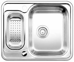 Blanco LANTOS 6-IF nerez ocel kartáčovaný s excentrem a příslušenstvím nerez - 516676
