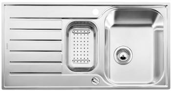 LANTOS 6 S kuchyňksý dřez, nerez kartáčovaný 514012