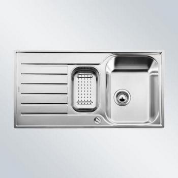 LANTOS 6 S-IF kuchyňský dřez nerez, s excentrem a příslušenstvím - 516612