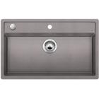 Blanco DALAGO 8 aluminium SILGRANIT® PuraDur® II s excentrem - 516630