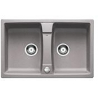 Blanco LEXA 8 aluminium SILGRANIT® PuraDur® II s excentrem - 514685