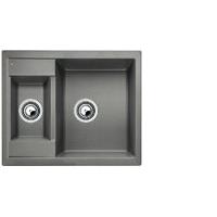 Blanco METRA 6 aluminium SILGRANIT® PuraDur® II bez excentru - 516172
