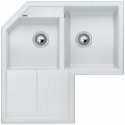 Blanco METRA 9 E bílá SILGRANIT® PuraDur® II s excentrem - 515558