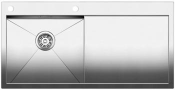 Blanco ZEROX 5 S-IF kuchyňský dřez nerez, levý s táhlem - 514006