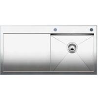 Blanco CLARON 5 S-IF kuchyňský dřez nerez lesk, pravý s táhlem - 513999