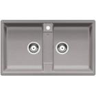 Blanco ZIA 9 aluminium SILGRANIT® PuraDur® II bez excentru (516677)