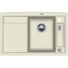 Blanco AXIA II 5 S-F jasmín, kuchyňský dřez s excentrem a příslušenstvím, SILGRANIT® 516814