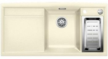 AXIA II 6 S-F jasmín, kuchyňský dřez s excentrem a příslušenstvím, SILGRANIT® 516878