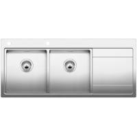 Blanco Divon II 8 S-IF, kuchynský dřez nerez lesk 516092