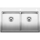 Blanco Divon II 8-IF, kuchynský dřez nerez lesk 516093