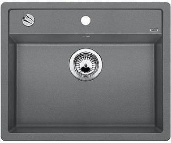 Blanco DALAGO 6-F aluminium, kuchyňský dřez s excentrem SILGRANIT® 514770