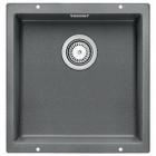 Blanco SUBLINE 400-U aluminium SILGRANIT® PuraDur® II 515753