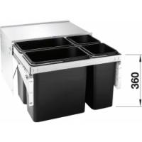 Blanco SELECT LUXON 60/4 s organizační zásuvkou
