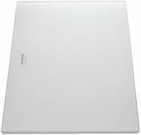 Krájecí deska, saténové sklo bílá 225335