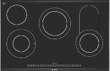 Varná deska sklokeramická PKC 875N24D