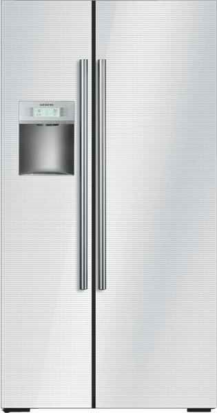 Americká lednice KA 62DS20
