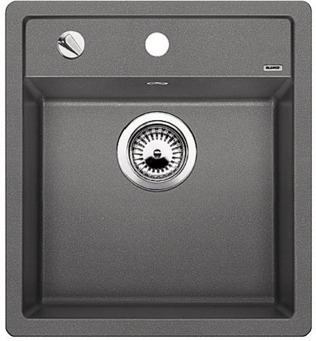 DALAGO 45-F aluminium, kuchyňský dřez s excentrem SILGRANIT® 517167