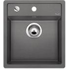Blanco DALAGO 45-F aluminium, kuchyňský dřez s excentrem SILGRANIT® 517167