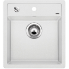 Blanco DALAGO 45-F bílá, kuchyňský dřez s excentrem SILGRANIT® 517169