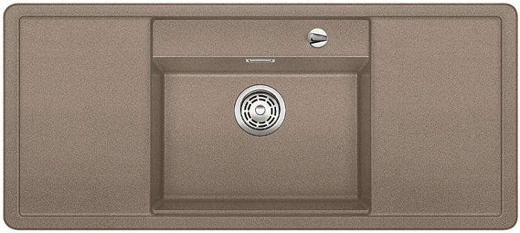 ALAROS 6 S tartufo, kuchyňský dřez s excentrem a příslušenstvím, SILGRANIT® 517284