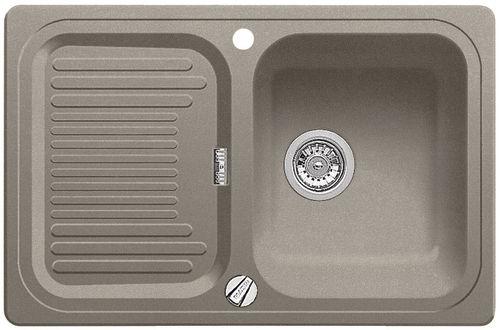 CLASSIC 45 S tartufo, kuchyňský dřez s excentrem SILGRANIT 517301
