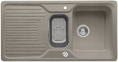 Classic 6 S dřez Silgranit tartufo 517308